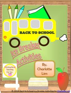 https://www.teacherspayteachers.com/Product/Back-to-School-Ice-Breaker-Activities-3927418
